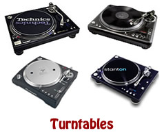 DJ Turntables