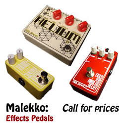 Malekko guitar effects pedals