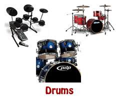 Acoustic and Electronic Drums