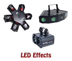 LED Stage Lights Effects