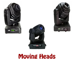 Stage Lights - Moving Heads