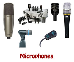 Live Sound Dynamic Microphones