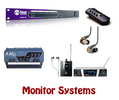 Live Sound Monitor Systems