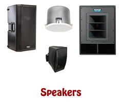 Live Sound Speakers