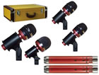 Avantone: CDMK-6 6-Mic Drum Mics Kit
